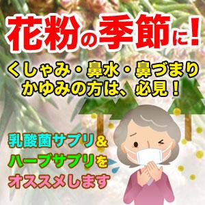 花粉・アレルギー特集