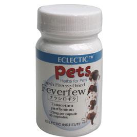 ペット用 ナツシロギク FFD 45カプセル フィーバーフュー、Feverfew エクレクティック For Pets